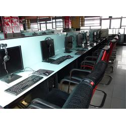 红蚂蚁网吧家具 网吧桌椅特价-信阳网吧桌椅图片