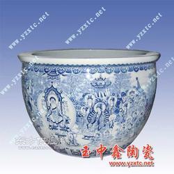 陶瓷大缸园林陶瓷缸陶瓷精品高脚鱼缸图片