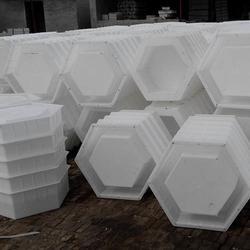 六角护坡模具、恒源模具(已认证)、预制块塑料模具图片