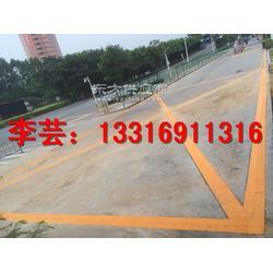 新田商业区停车场划线施工白石厦商业区停车场划线标准图片