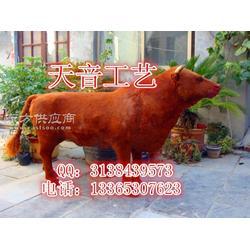 仿真黄牛模型耕地牛标本参观门面黄牛道具图片