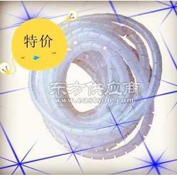 塑料缠绕管直径8mm 包线管 电线绝缘管 一卷12米图片