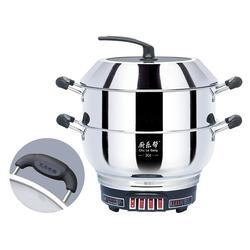 不锈钢电热锅有哪些优点_永乐电器_周村电热锅图片