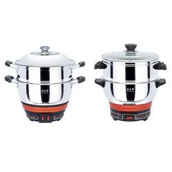 厨乐帮电热锅(图)|真不锈厨具|宁夏厨具图片