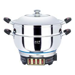 周村永乐电器厂、厨乐帮电热锅、连体电热锅报价图片