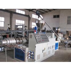 新锐PVC塑料管材生产线_新锐塑机_PVC塑料管材生产线图片