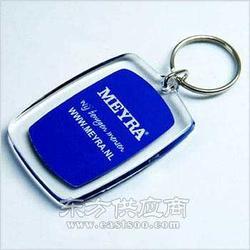 塑料钥匙扣定制/透明钥匙链制作图片