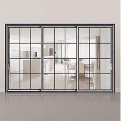 厨房3c玻璃重型推拉门、铝合金重型钢化玻璃推拉门、重型推拉门图片