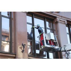 外墙清洗开荒保洁-高空作业-经济开发区外墙清洗图片