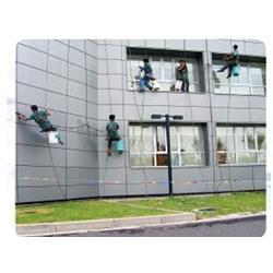 专业高空作业队伍(图)|海珠区外墙清洗|外墙清洗图片