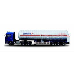 供应低压气体运输半挂车天然气运输车LNG图片