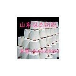 供应环锭纺涤棉混纺竹节纱T65/C35 26支图片