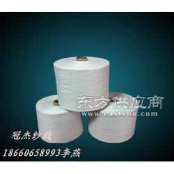 供应赛络纺涤粘R65/T35反比例混纺纱21支图片