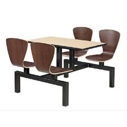 食堂餐桌椅防火板_艺东塑料(在线咨询)_厚街食堂餐桌图片