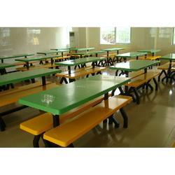 ?欧式食堂餐桌椅_艺东塑料五金加工厂_食堂餐桌椅图片