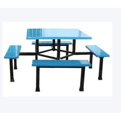 学校食堂餐桌椅_艺东塑料(已认证)_食堂餐桌图片