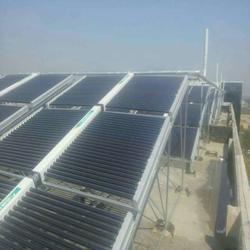 山西久泰伟业、太原地产太阳能热水工程、太阳能热水工程图片