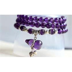 紫水晶手链|尚善谦|紫水晶图片