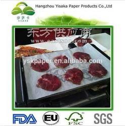 厂家专业出口高质量防油烧烤纸图片
