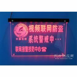 欣广安联网报警警示灯牌图片