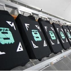 T恤印字|浙江T恤印字|迪一丝网印刷(查看)图片