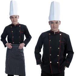 雅泉 酒店餐厅厨师工作服-云浮市酒店厨师服短袖图片
