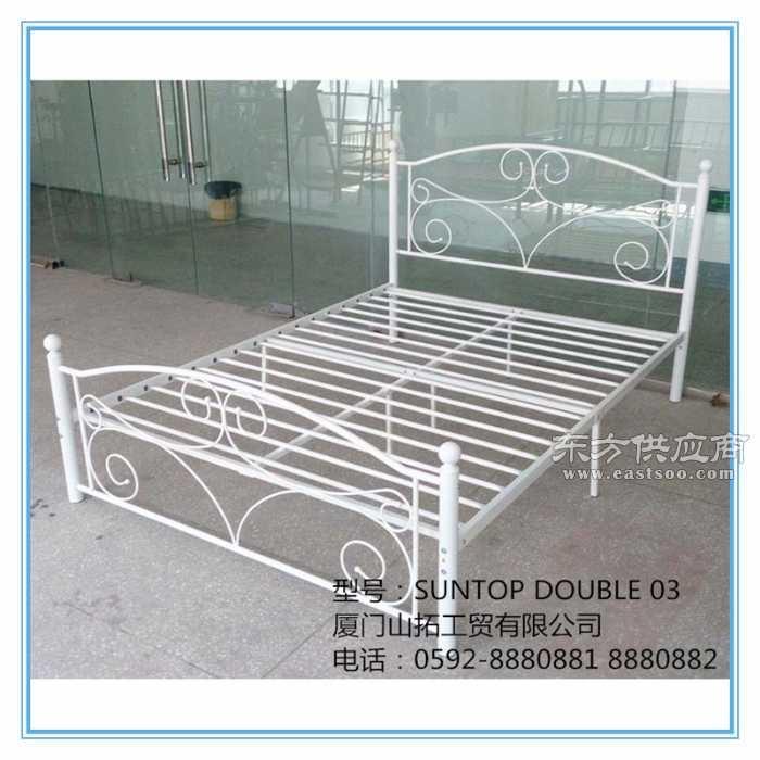 宜家款铁床欧式铁床双人铁床