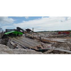 山東淘金船-永利礦沙機械-鏈斗式淘金船圖片