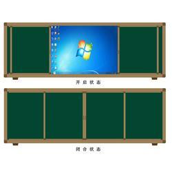 (方圆)更专业 多功能推拉黑板-六盘水推拉黑板图片