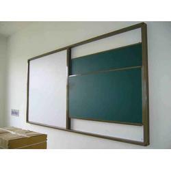 双面黑板白板、【方圆】山东最大最专业(已认证)、潍坊黑板图片