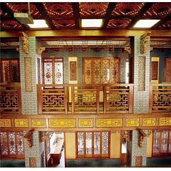 仿古门窗 订做,厂家 河南焦作仿古门窗 翔云手工木雕图片