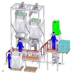 颗粒吨袋拆包机_海口吨袋拆包机_科磊机械设备图片