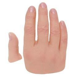 定制假手指、假手指、港园仿真工艺品(查看)图片