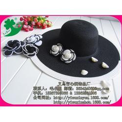 心洲饰品设计独特(图)、女士帽厂家、河南女士帽图片