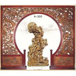 新艺仿古精湛的工艺 仿古木雕壁挂-绍兴仿古木雕图片