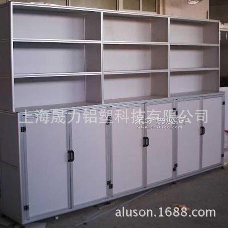 展厅样品间货架展柜 宣传展板生产厂家定制
