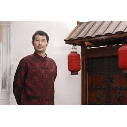 广东时尚男唐装代理_和贵服装_唐装图片