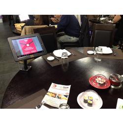 平板点餐支架定制、平板点餐支架、广州标扬图片