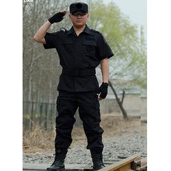 朗派保安服定做,2015新款物业保安服,重庆市保安服图片