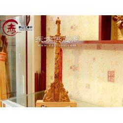 竹雕桃木剑哪里好-桃木剑-泰山兰亭轩图片