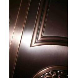 别墅玻璃铜门|福乐全铜门厂家|南宁铜门图片