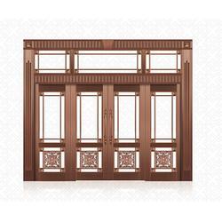 福乐全电镀铜门(图)|仿铜门公司|宜春仿铜门图片