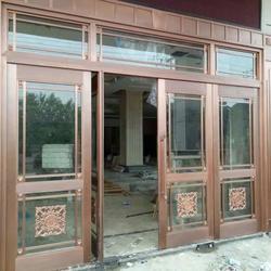 南昌铜门,福乐全铜门,仿古铜门图片