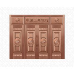 上饶铜门生产、福乐全铜门生产厂家代理、铜门生产厂图片