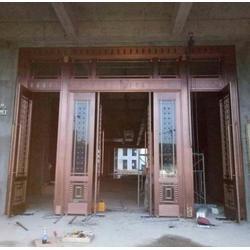 別墅銅門定做-新建縣銅門-福樂全銅門廠家(查看)圖片