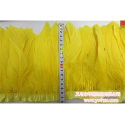 羽毛布带、鸡尾毛羽毛布带、华旭饰品口碑好图片