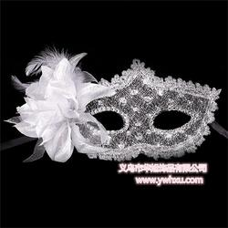 羽毛面具生产厂家、羽毛面具、华旭饰品图片