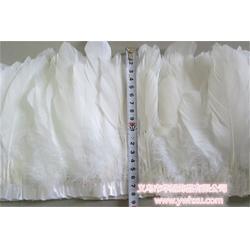 鹅羽毛布带-华旭饰品厂家直销-羽毛布带图片