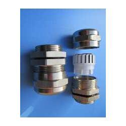佐观品牌EXDII认证黄铜镀镍电缆防爆密封接头M27图片