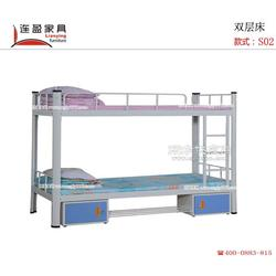 连盈家具钢制学生公寓床,高端质优产品全因你图片